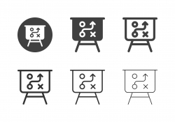 Planing Board Icons - Multi Series