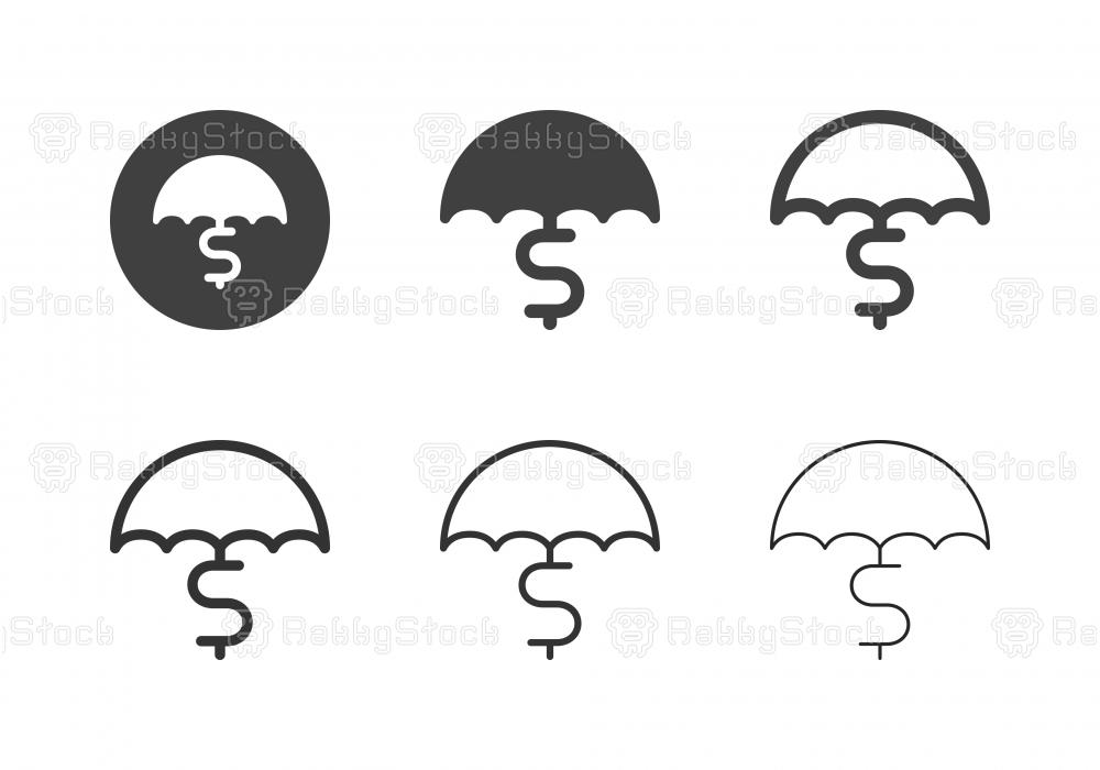 Money Insurance Icons - Multi Series