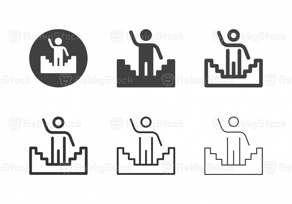 Solution Ladder Icons - Multi Series
