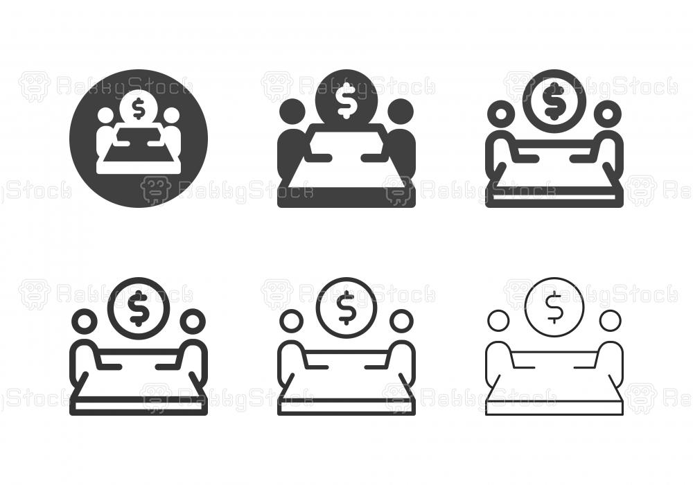 Money Talk Icons - Multi Series