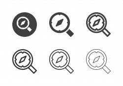 Searching Direction Icons - Multi Series