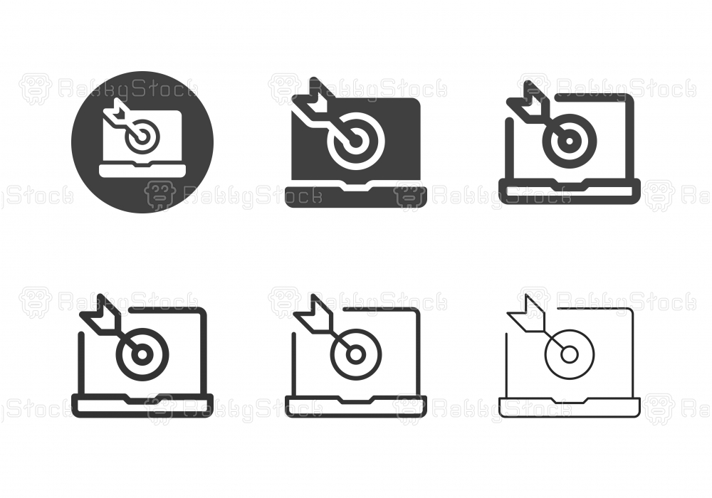 Social Target Icons - Multi Series