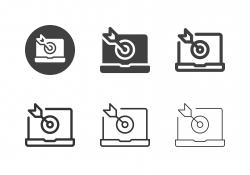 Social Target Icons - Multi Series