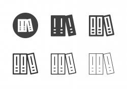 Ring Binder Icons - Multi Series