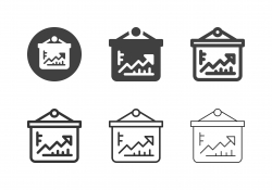 Growth Chart Board Icons - Multi Series