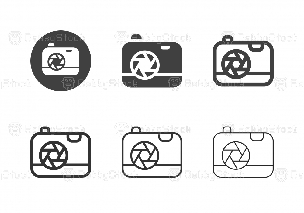 Compact Camera Icons - Multi Series