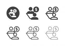 Financial Discussion Icons - Multi Series