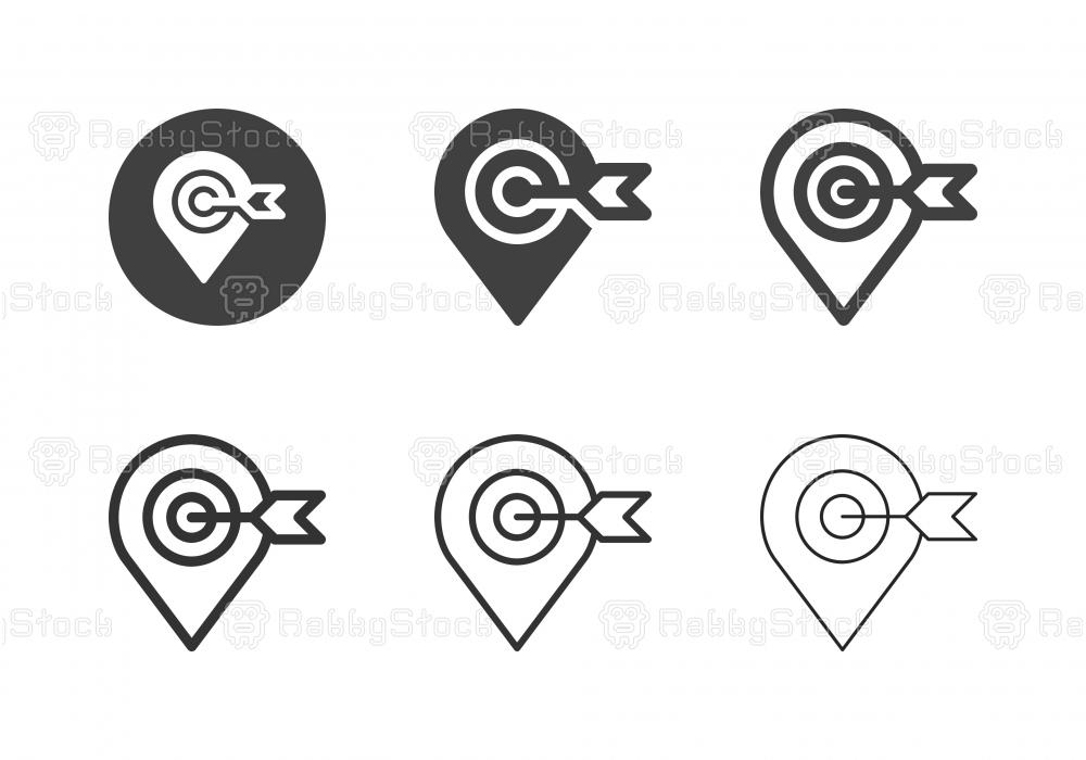 Target Location Icons - Multi Series