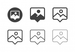 Photo Messaging Icons - Multi Series