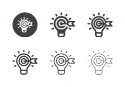 Target Idea Icons - Multi Series