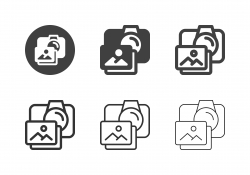 Photo and Camera Icons - Multi Series