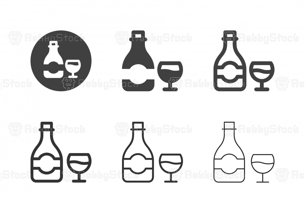 Champagne Icons - Multi Series