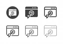 Online Target Icons - Multi Series