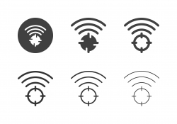 Wireless Target Icons - Multi Series