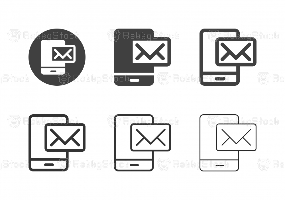 E-Mail Icons - Multi Series