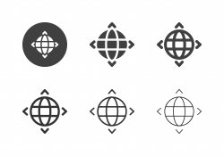 Global Direction Icons - Multi Series