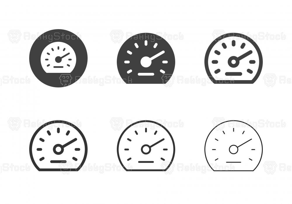 Auto Meter Icons - Multi Series