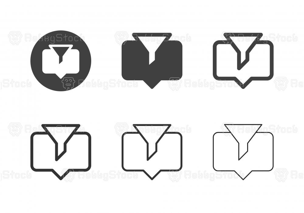 Data Filter Icons - Multi Series