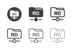 Advertising Network Icons - Multi Series