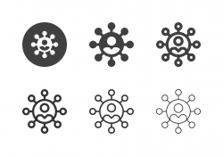 Social Connection Icons - Multi Series