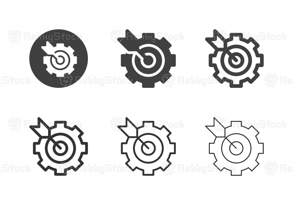 Target Management Icons - Multi Series
