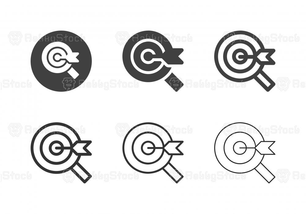 Searching Target Icons - Multi Series