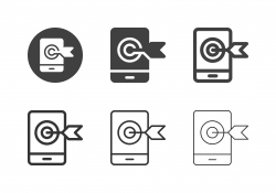 Mobile Target Icons - Multi Series