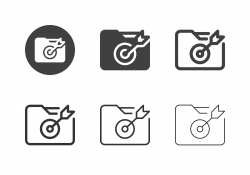 Target Folder Icons - Multi Series
