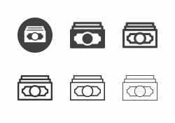 Paper Currency Icons - Multi Series