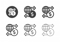 Global Finance Icons - Multi Series
