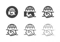 Global Cooperation Icons - Multi Series