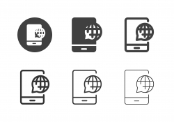 Mobile Communication Icons - Multi Series