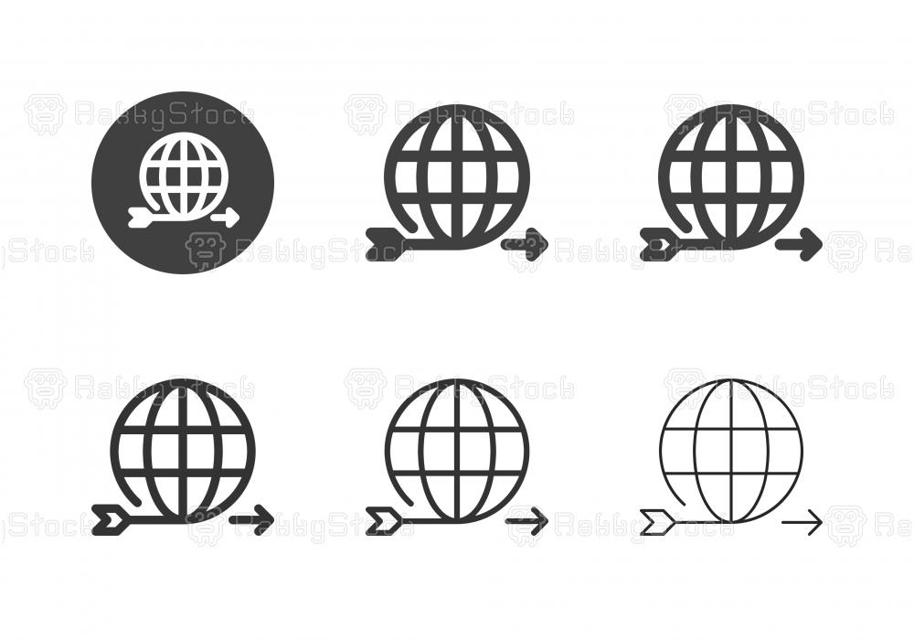 Global Target Forward Icons - Multi Series