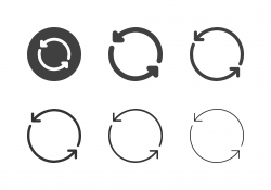 Arrow Direction Icons 1 - Multi Series