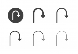 Arrow Direction Icons 2 - Multi Series