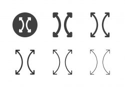 Arrow Direction Icons 4 - Multi Series