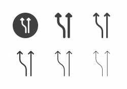 Arrow Direction Icons 7 - Multi Series