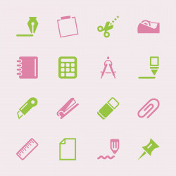 Office Icons Set 2 - Color Series   EPS10