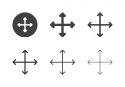 Arrow Direction Icons 14 - Multi Series