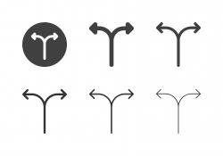 Arrow Direction Icons 17 - Multi Series
