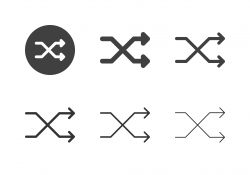 Arrow Direction Icons 19 - Multi Series