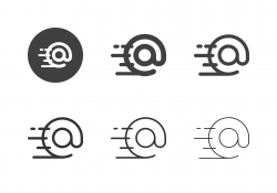 E-mail Express Icons - Multi Series