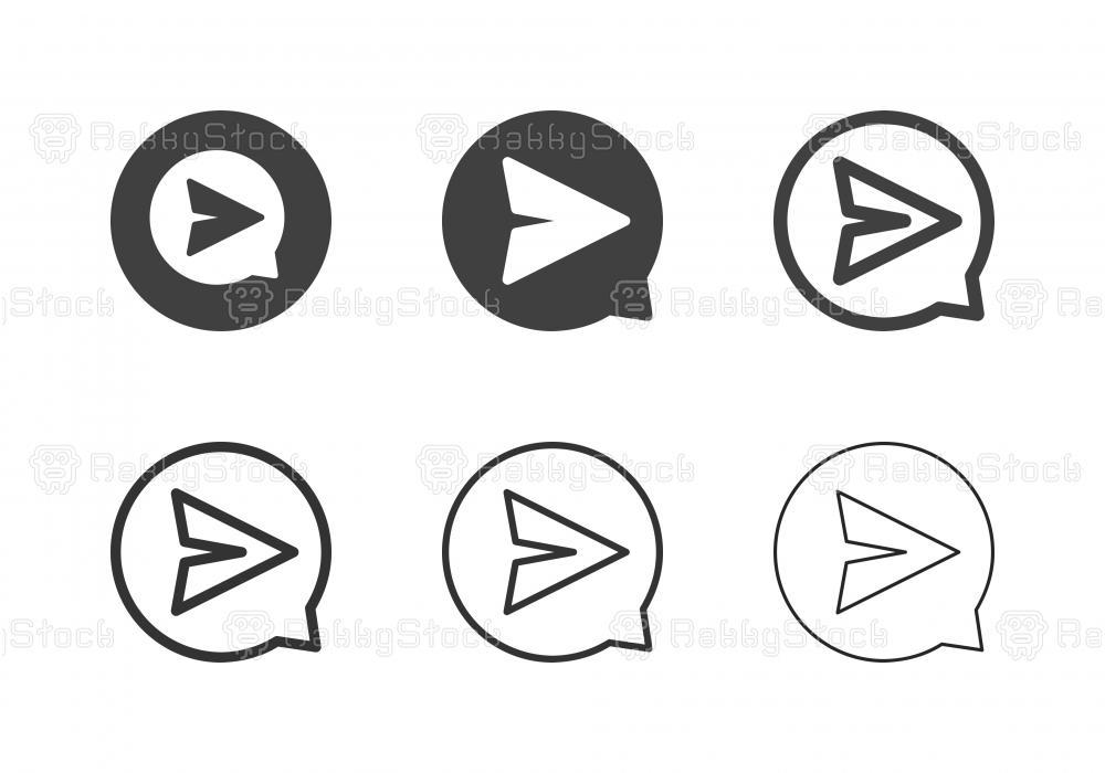 Share Location Icons - Multi Series