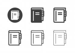 Address Book Icons - Multi Series