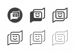 Emoji Comment Icons - Multi Series