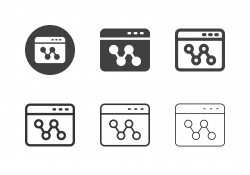 Web Networking Icons - Multi Series