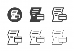 Credit Info Icons - Multi Series