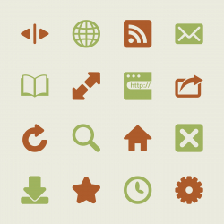 Web Browser and Intenet Icons - Color Series | EPS10