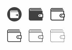 Wallet Icons - Multi Series