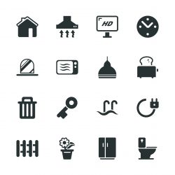 Home Silhouette Icons